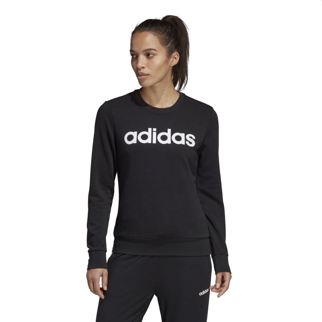 Adidas Essentials Linear Sweatshirt Γυναικεία Μπλούζα